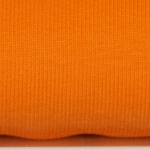 French Terry Stoff Sommersweat uni orange