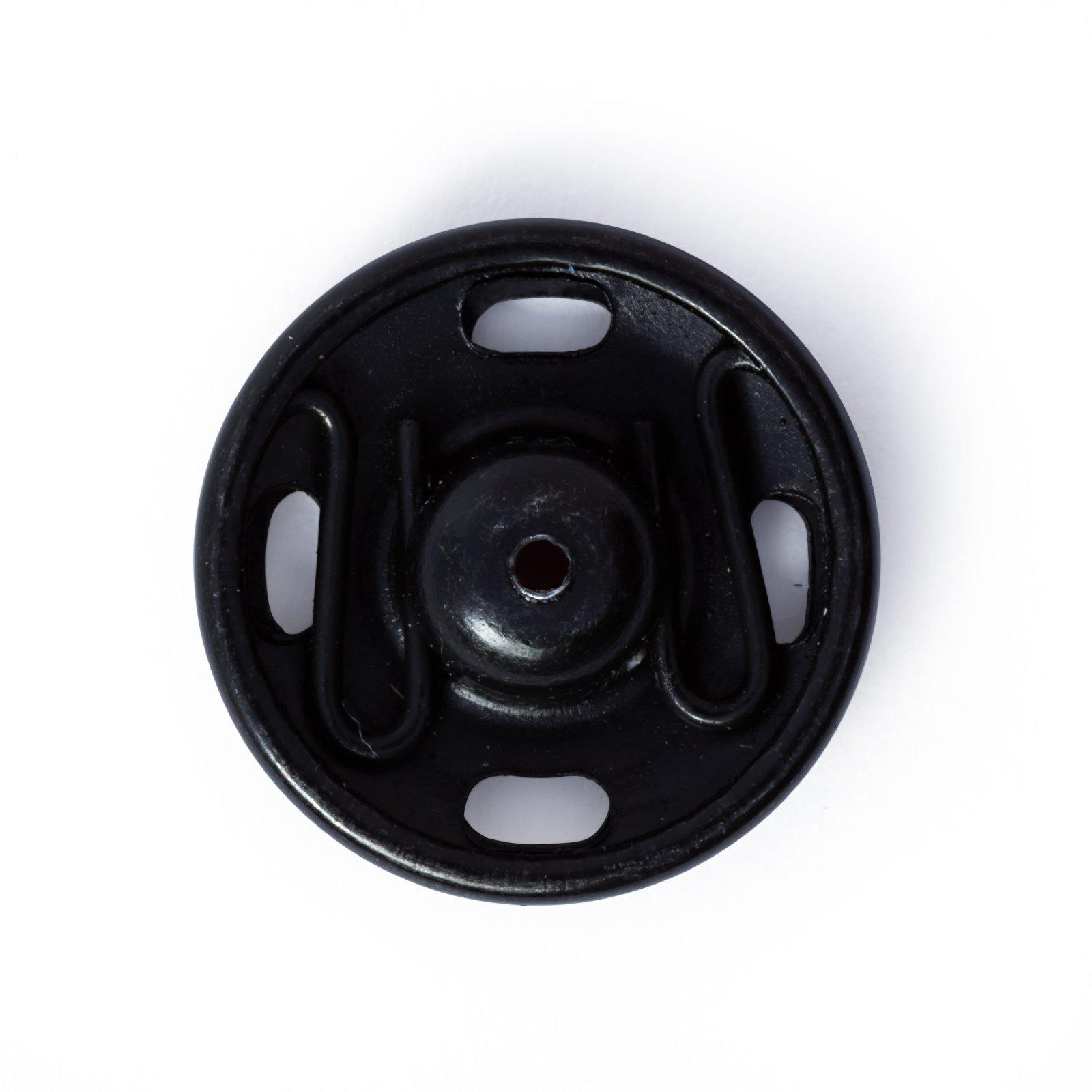 4 Prym Druckknöpfe zum Annähen 17 mm schwarz 341254