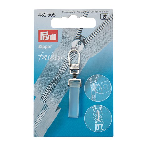 PRYM Fashion-Zipper Crystal transparent matt 482505