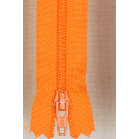 849 YKK Reißverschluss Nahtverdeckt 60cm orange